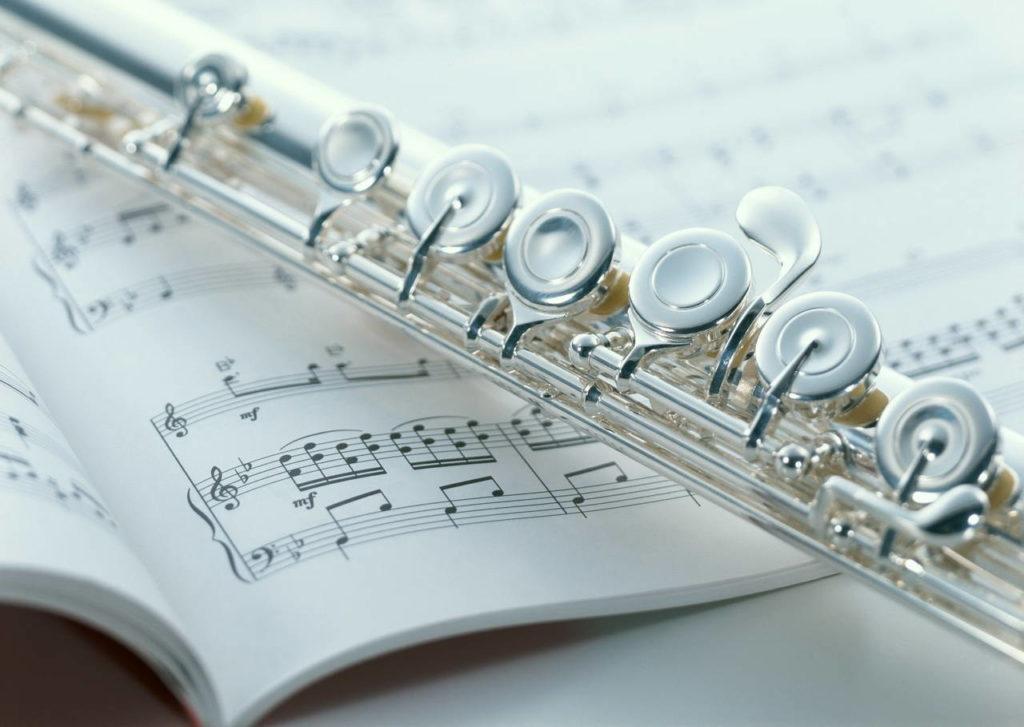 Флейта на нотах